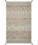 Kas Hang Ten Malibu 851 Greige Area Rug