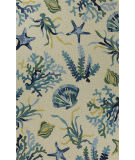 Kas Harbor 4244 Ivory - Blue Area Rug