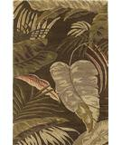 KAS Havana Rainforest Mocha 2615 Area Rug