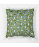 Kas Gramercy Pillow L106 Teal - Gold