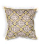Kas Medaln Pillow L197 Yellow - Grey