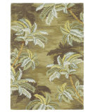 KAS Sparta Palm Trees Moss 3102 Area Rug