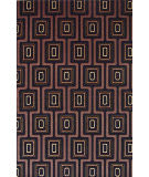 KAS Tate City Grid 8510 Black Area Rug
