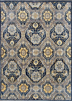 Kashee Lahore Blue 8' x 11' Rug