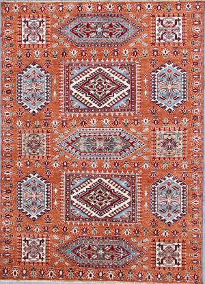 Kashee Royal Kazak OAK Brown Area Rug