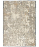 Kathy Ireland Sahara KI392 Ivory - Silver Area Rug