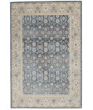 Kathy Ireland Malta MAI14 Blue - Grey Area Rug