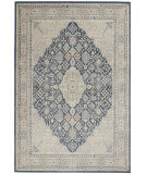 Kathy Ireland Malta MAI16 Blue - Grey Area Rug