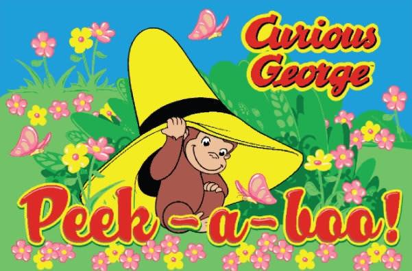 Fun Rugs Curious George Peek-A-Boo CG-06 Area Rug