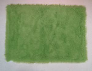 Fun Rugs Flokati LIME GREEN FLK-004 Lime Green Area Rug