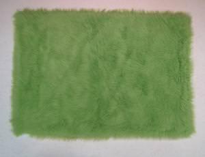 Fun Rugs Flokati LIME GREEN FLK-004 Lime Green Area Rug