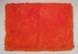 Fun Rugs Flokati ORANGE FLK-006 Orange Area Rug