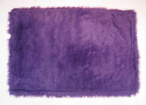 Fun Rugs Flokati PURPLE FLK-009 Purple Area Rug