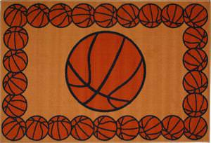 Fun Rugs Fun Time BASKETBALL TIME FT-93 Multi Area Rug