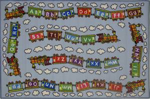 Fun Rugs Fun Time Edu Train FT-96 Multi Area Rug