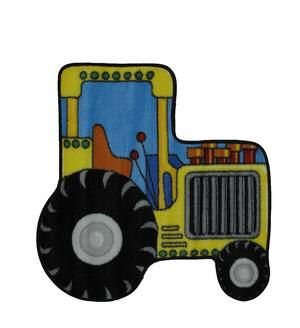 Fun Rugs Fun Time Shape Tractor FTS-134 Multi Area Rug