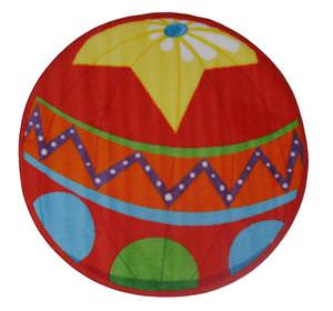 Fun Rugs Fun Time Shape Circus Ball FTS-137 Multi Area Rug
