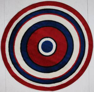 Fun Rugs Fun Time Shape Concentric 2 FTS-150 Multi Area Rug