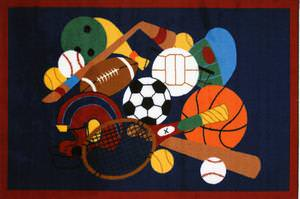 Fun Rugs Fun Time Sports America GI-51 Multi Area Rug