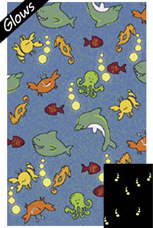 Fun Rugs Night Flash NF-13 Multi Area Rug