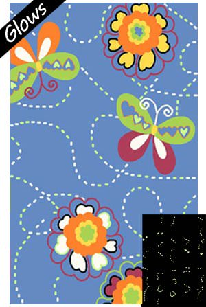 Fun Rugs Night Flash NF-17 Multi Area Rug