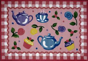 Fun Rugs Olive Kids Tea Party OLK-056 Multi Area Rug