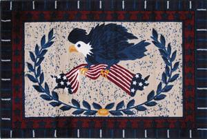 Fun Rugs Supreme American Eagle TSC-139 Multi Area Rug