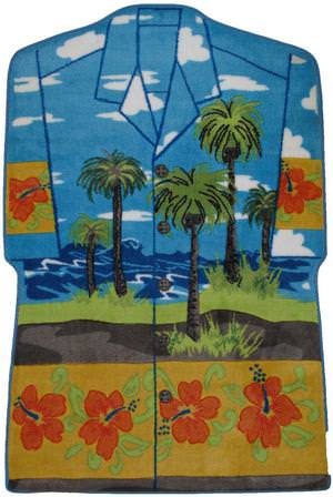 Fun Rugs Supreme Hawaiian Shirt TSC-230 Multi Area Rug