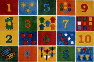 Fun Rugs Supreme Number Blocks TSC-232 Multi Area Rug
