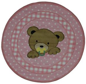 Fun Rugs Supreme Teddy Center Pink TSC-238 Multi Area Rug