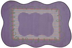 Fun Rugs Supreme Girls Scalloped TSC-240 Multi Area Rug