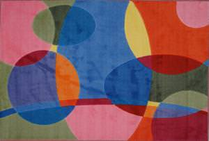 Fun Rugs Supreme Groovy Dots TSC-246 Multi Area Rug