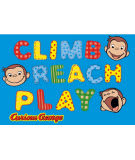 Fun Rugs Curious George George Climb - Reach - Play CG-02 Area Rug