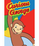 Fun Rugs Curious George Happy George CG-04 Area Rug