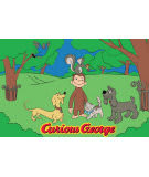 Fun Rugs Curious George George and Friends CG-05 Area Rug