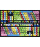 Fun Rugs Fun Time Keyboard FT-100 Multi Area Rug