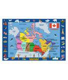 Fun Rugs Fun Time Map of Canada FT-132 Multi Area Rug