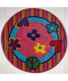 Fun Rugs Fun Time Shape Peace Out FTS-180 Multi Area Rug
