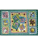 Fun Rugs Jade Reynolds Building Blocks JR-TSC-189 Multi Area Rug