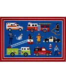 Fun Rugs Olive Kids Heroes OLK-018 Multi Area Rug