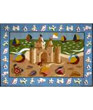 Fun Rugs Olive Kids Sand Castle OLK-050 Multi Area Rug