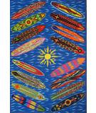 Fun Rugs Surf Time Go Surfing ST-22 Multi Area Rug