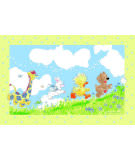 Fun Rugs Little Suzys Zoo Looking For The Wishing Puff SUZ-02 Area Rug