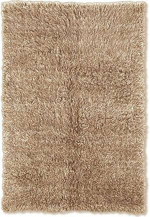 Linon Flokati 3A 2000 Grams Tan Area Rug