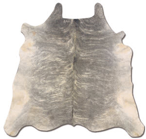 Linon Cowhide Ch01 Light Brindle Area Rug