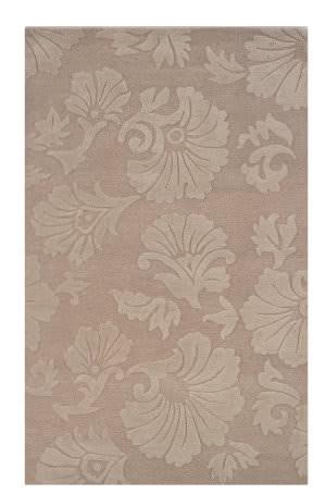 Linon Ashton Slsg50 Taupe - Cream Area Rug