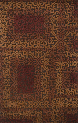 Loloi Alexi AJ-01 Brown / Spice Area Rug