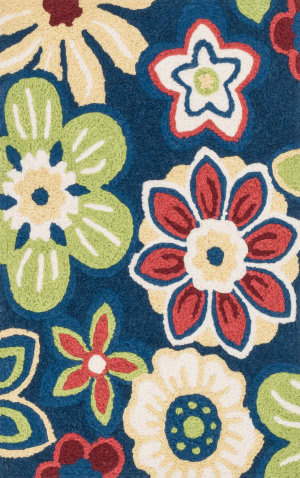 Loloi Angelou AN-14 Navy / Multi Area Rug