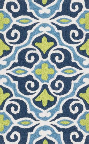 Loloi Angelou AN-15 Blue / Green Area Rug