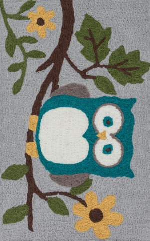 Loloi Angelou AN-22 Grey / Teal Area Rug